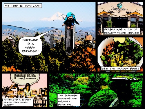 Portland Vegan Comic